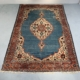 Large hand-knotted Persian Tabriz rug, mid-century