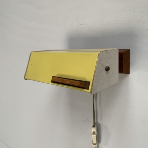 Adjustable wall lamp by Niek Hiemstra for Evolux – Netherlands 1950s